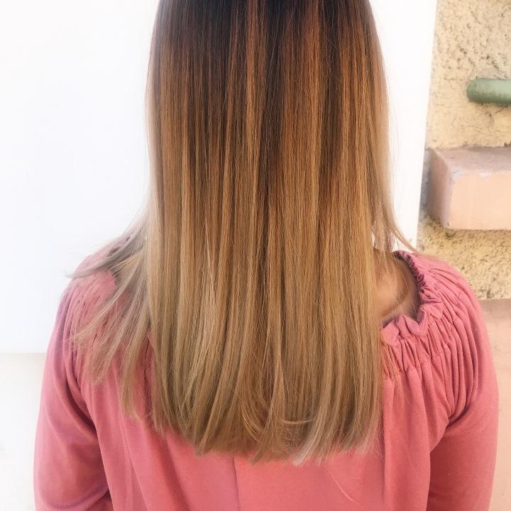Avoir un beau blond comme enété