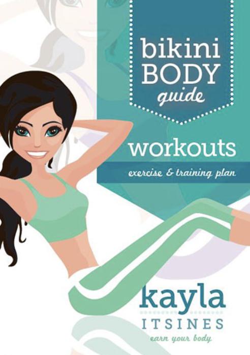 J'ai testé le BBG (Bikini Body Guide) de KaylaItsines
